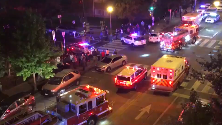 9 people shot in DC in less than 30 minutes