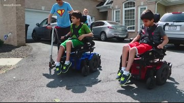 The only thing these twins want for their 10th birthday is a bike they can actually ride