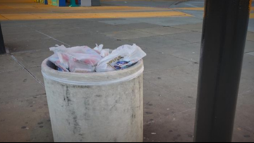 Photos show human feces, condoms in Metro parking garages