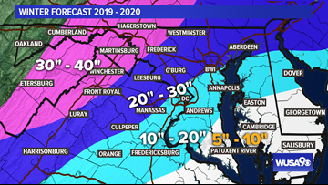DC Winter Weather Forecast: Here's how much snow to expect