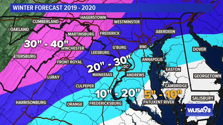 Winter Forecast 2019 - 2020