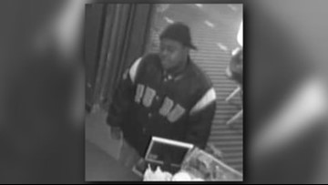 Police search for man who touched himself while talking to movie theater employee in cafe