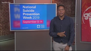 It's National Suicide Prevention Week