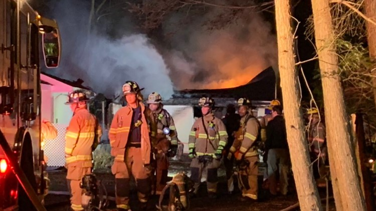 Crews knock out fire at vacant home in McLean
