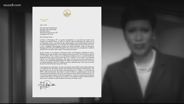 D.C. Mayor Muriel Bowser Formally Asks President Donald Trump To Pay Her City Back