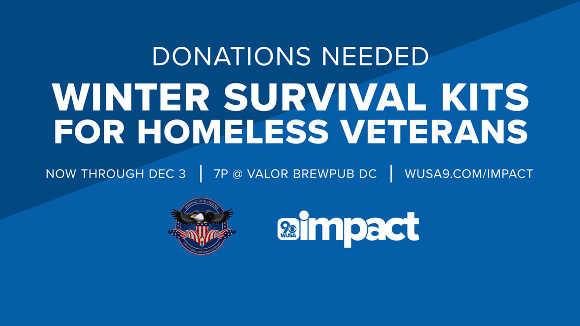 Here's how you can help homeless veterans this winter