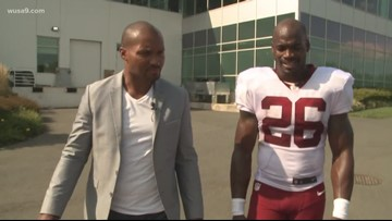 1-on-1 with Redskins' Adrian Peterson