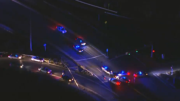 Police: Man injured after car chase ends in officer-involved shooting in Loudoun County