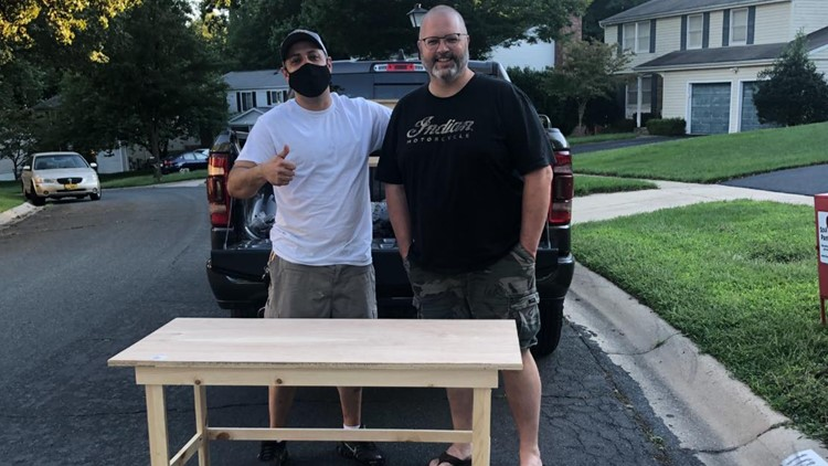 Get Up Give Back gives $1000 to Desks By Dads