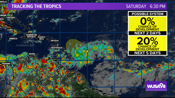 The tropics are coming alive