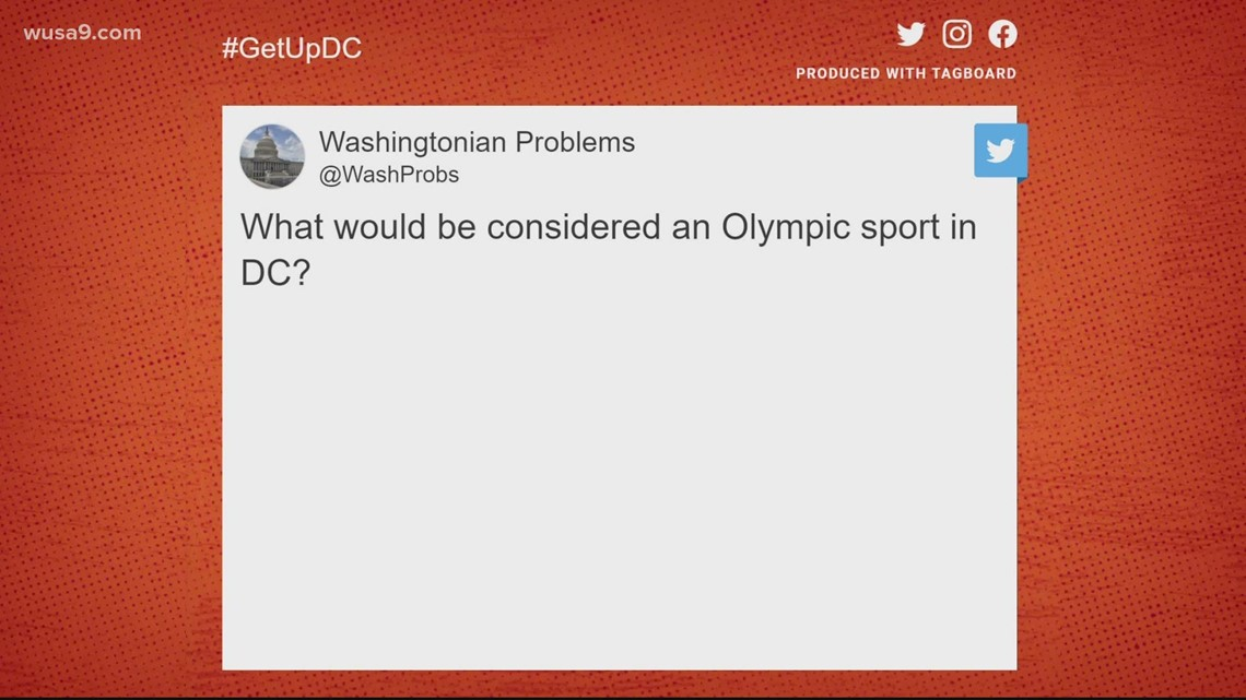 What would be considered an Olympic sport in DC | It's A DC Thing