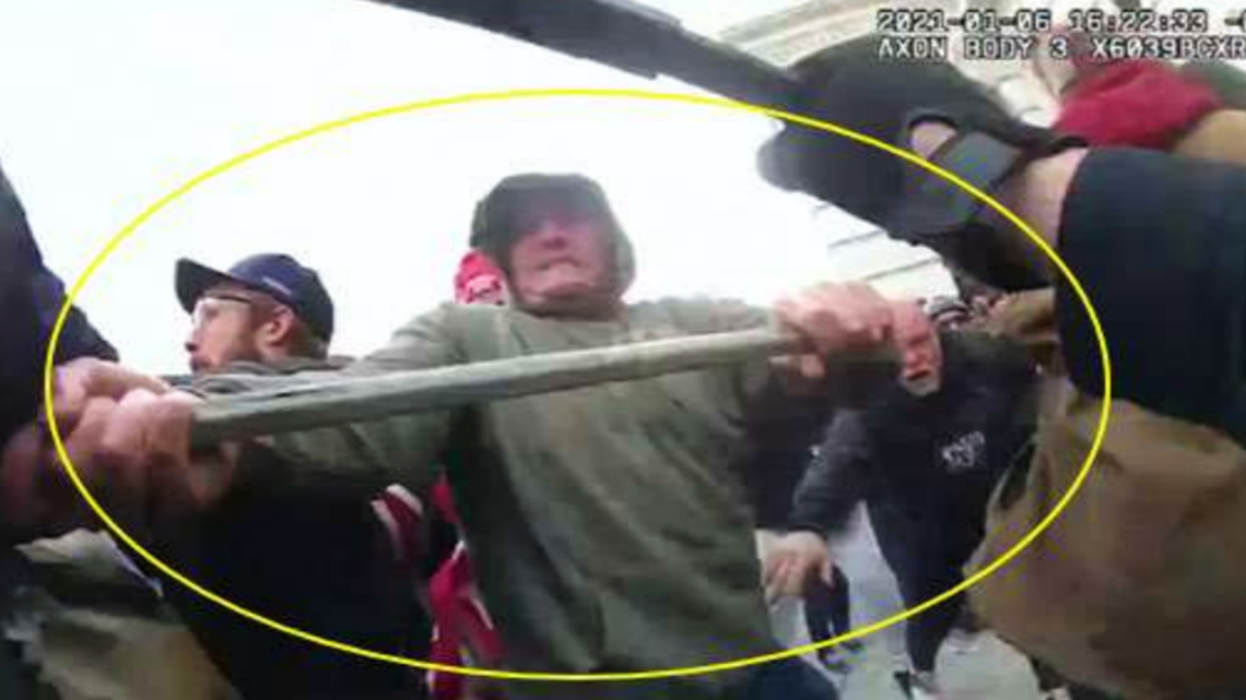 Mississippi man charged with attacking DC Police with metal rod during Capitol riot