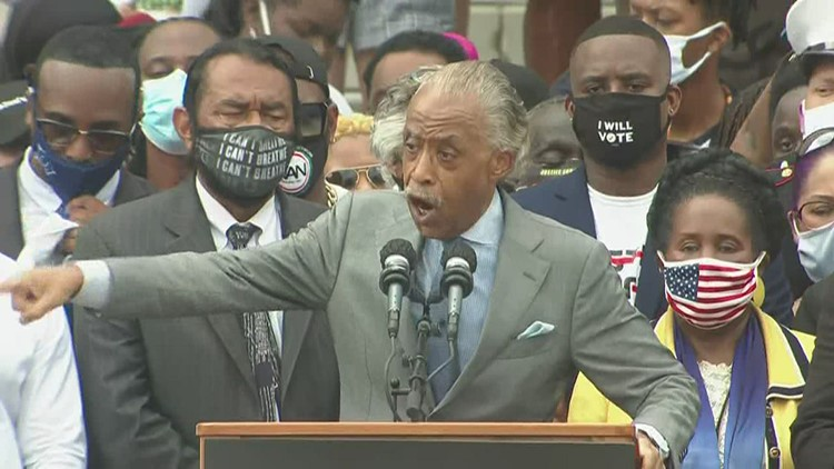 'Might have killed the dreamer, but you can't kill the dream' | Rev. Al Sharpton speaks at March on Washington