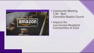 Anti-Amazon group to hold community forum