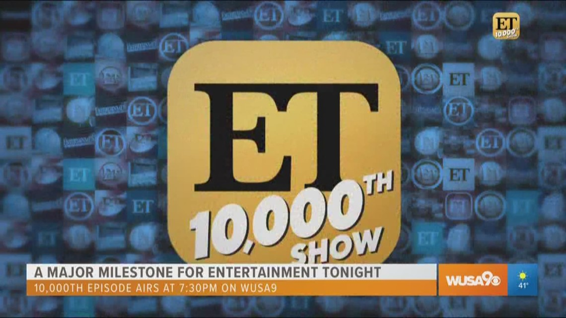Guinness World Records honors Entertainment Tonight for a major milestone