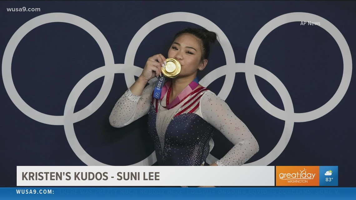 Suni Lee's inspirational journey to Gold!   Kristen's Kudos