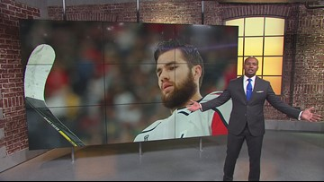 Caps' Tom Wilson faces possible suspension for hit in preseason finale