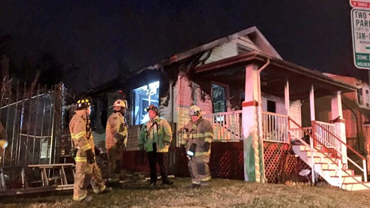 Firefighters battle flames, bitter cold, after space heater sparks house fire in Southeast DC