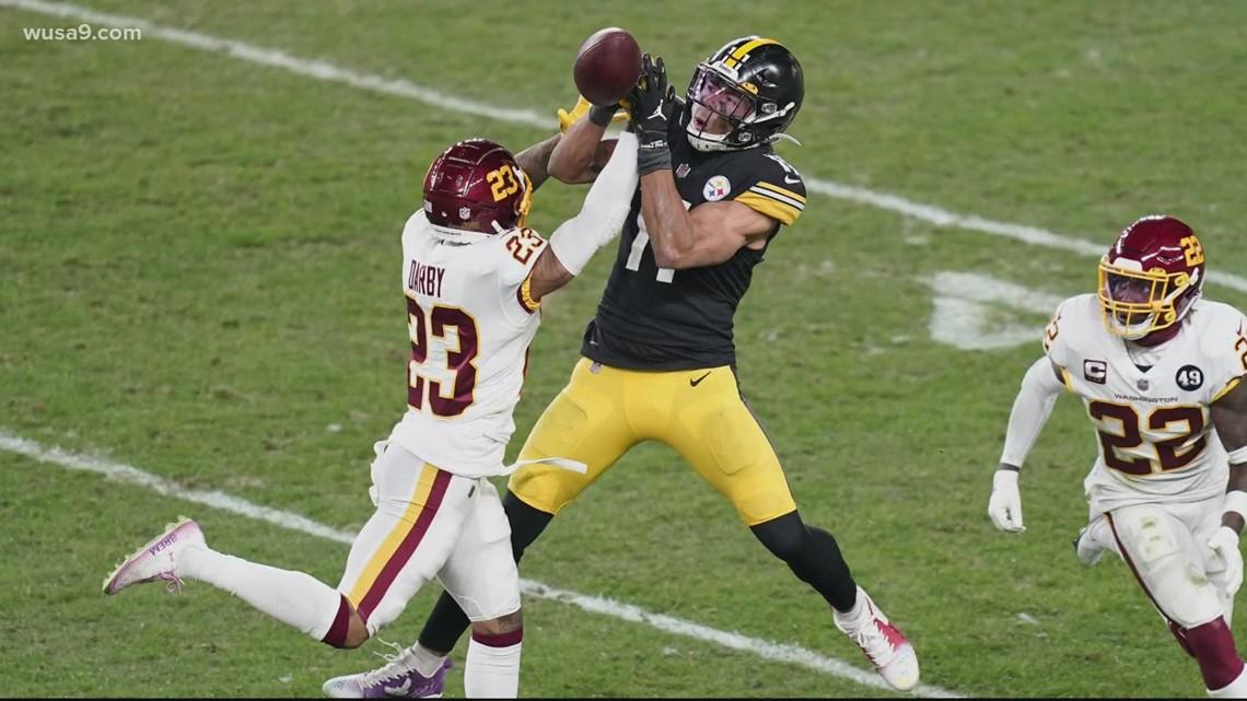 Washington beats Steelers to take share of lead in NFC East