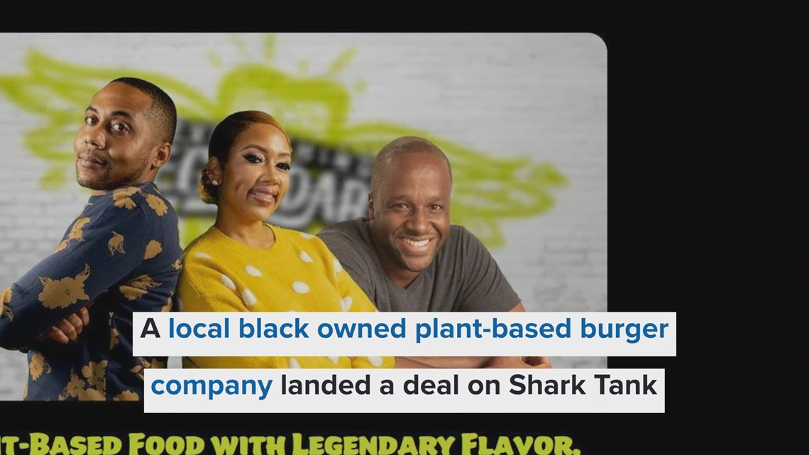 A local black owned plant-based burger company landed a deal on Shark Tank