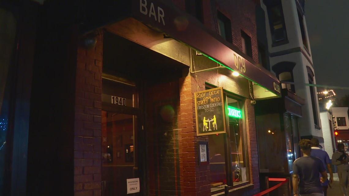 Night clubs and bars fully open again in Washington DC