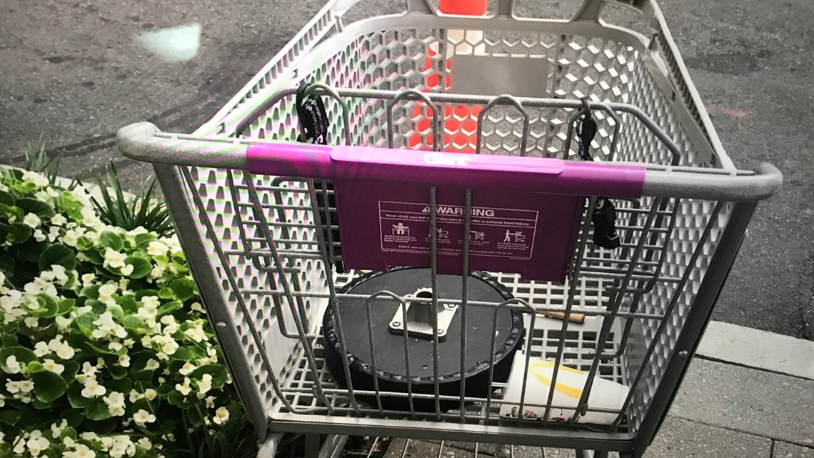 VA may pass legislation to fine people who steal and abandon shopping carts
