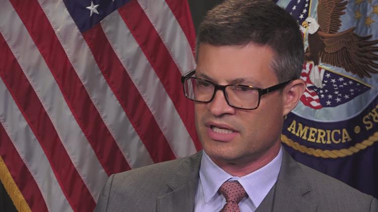 Dr. Matt Miller is acting director of the VA's suicide prevention program