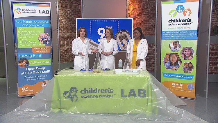 Miss America does a Science Demo in DC!