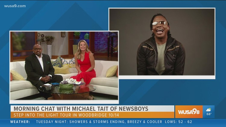Michael Tait of Newsboys talks about upcoming performance at home in the DC area