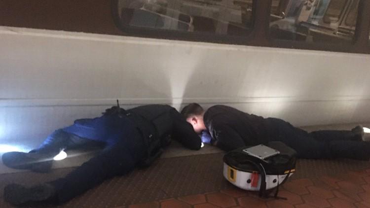 Woman hit by Metro