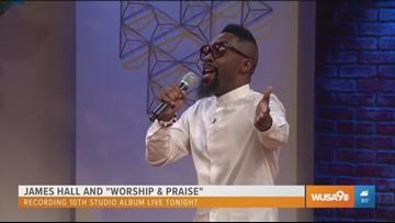 Gospel singer James Hall takes us to church
