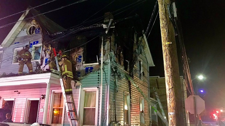 Prince George's County blaze forces family out of home