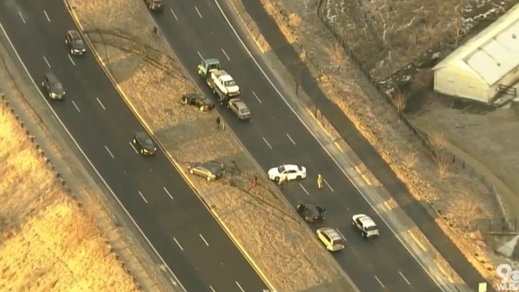 Several crashes reported across DMV due to icy conditions