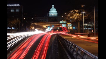Who's breezing through traffic thanks to the government shutdown? Here are the winners.