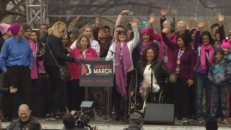 BLOG: Donald Trump's Inauguration, Women's March