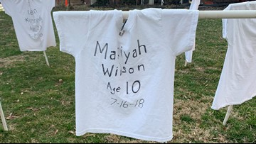 More than 120 people were killed in the DC area last year. Now, one church has a haunting memorial for the victims