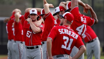 Nationals join MLB in helping stadium employees