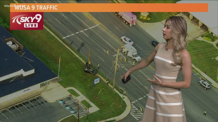 Fatal crash in Silver Spring shuts down New Hampshire Avenue