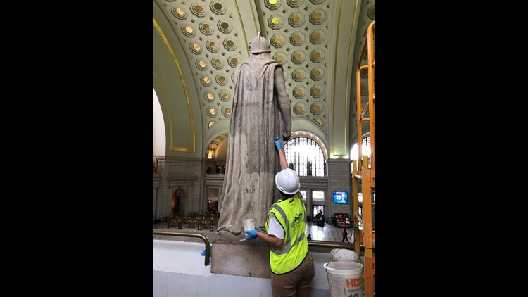 Union Station Soldier Restoration