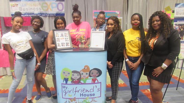 MyGirlFriendsHouse TeenPreneur Business Expo  2020