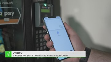 VERIFY: Is mobile pay safer than paying with your credit card?