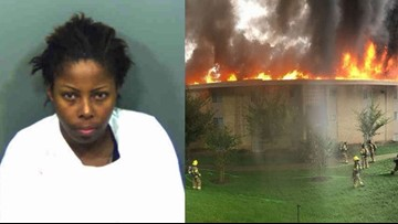 Angry girlfriend pleads guilty to setting ex-boyfriend's apartment building on fire, displacing 130 people