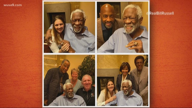 Let's not forget Bill Russell when you talk about basketball legends