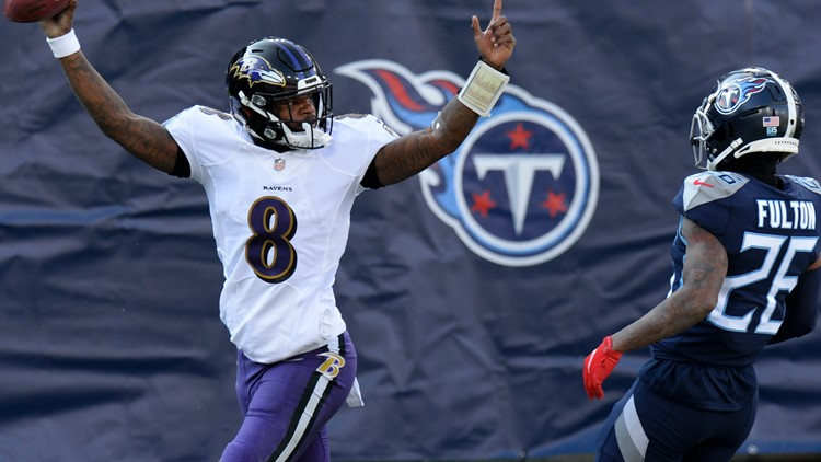 Baltimore Ravens Beat Tennessee Titans 20-13, Lamar Jackson Finally Gets First Career Playoff Win
