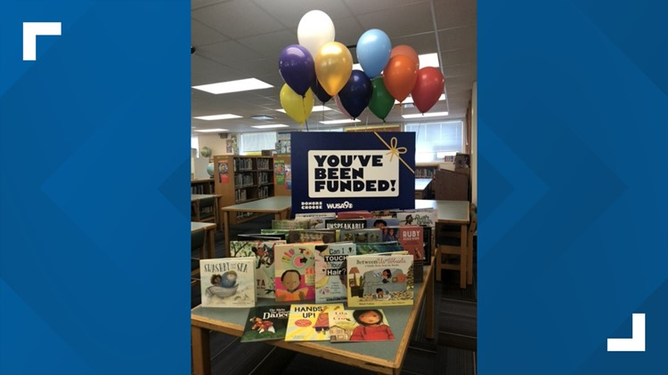 This elementary class is getting dozens of new books, thanks to WUSA9's Impact Team. Here's how you can help