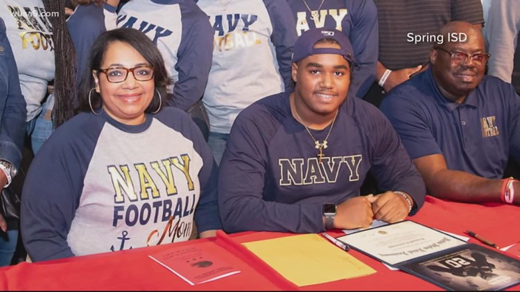 Mom shot to death in Annapolis honored Naval Academy football game