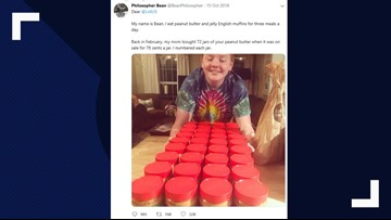 15-year-old boy with autism shares lifetime supply of peanut butter with furloughed workers