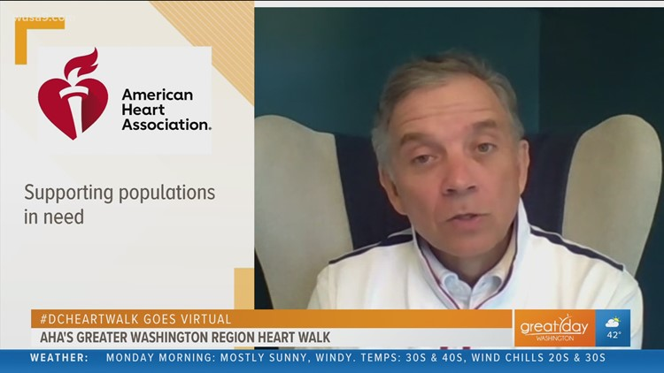 Greater Washington Region Heart Walk goes virtual