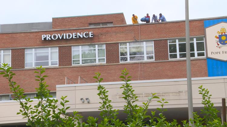 Providence Hospital closes