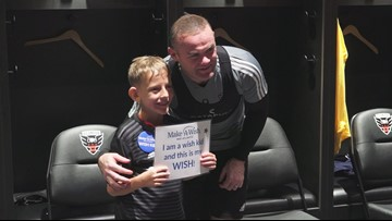 D.C. United makes 8-year-old with heart transplant's wish come true